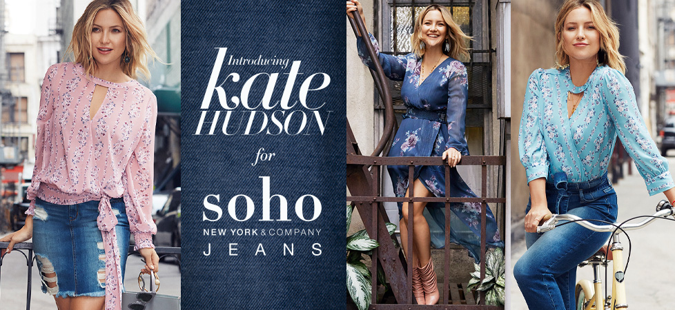 Size LXL Grey Kate Hudson for Soho Jeans | New York & Company