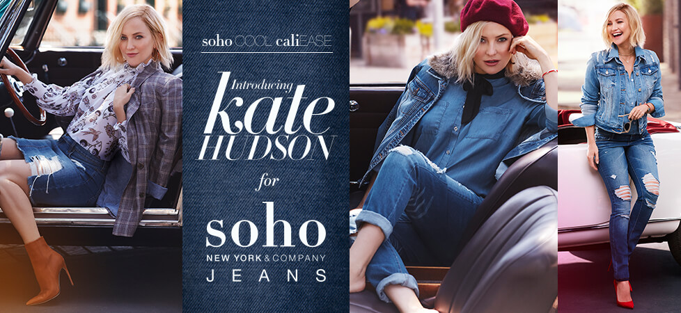 Size 2 Black Kate Hudson for Soho Jeans | New York & Company