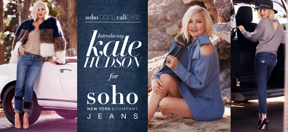 Size XX Large Grey Kate Hudson for Soho Jeans | New York