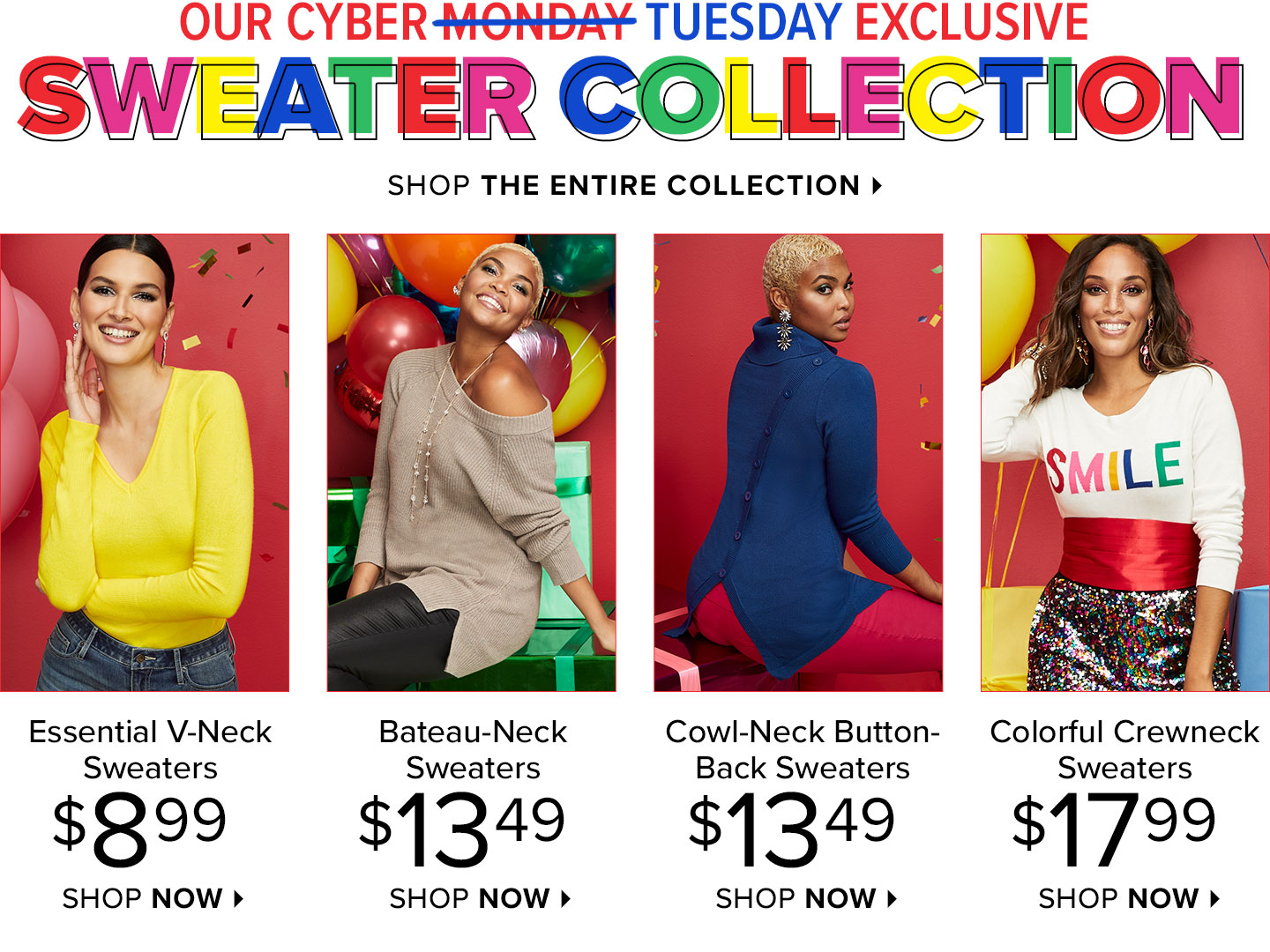 Shop The Cyber Sweater Collection