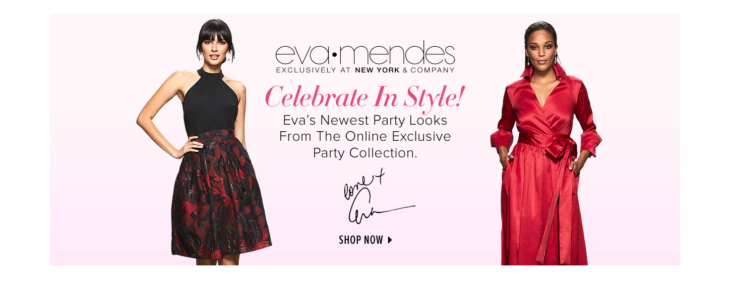 Eva Mendes Party Collection