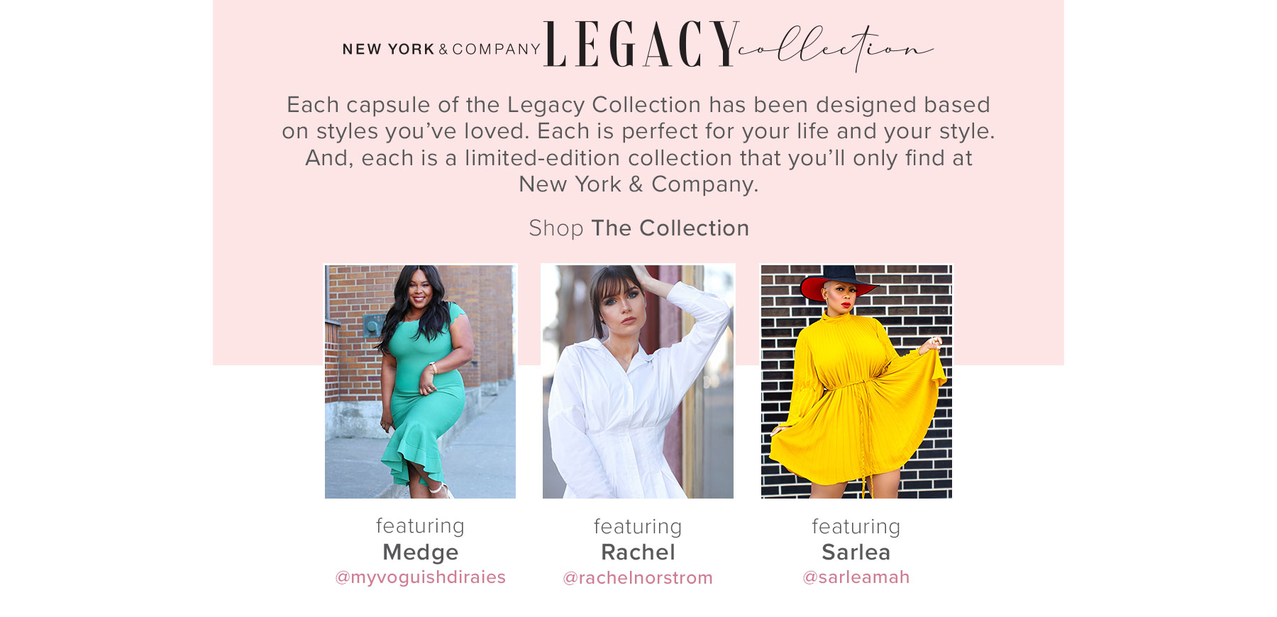 Shop The NY&C Legacy Collection